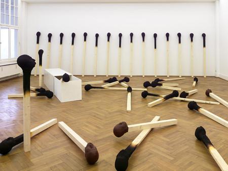 Люди как спички: серия работ Висбадена Вольфганга — фото 6