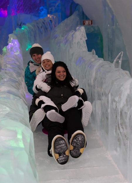 Ледяной отель. Квебек — фото 23