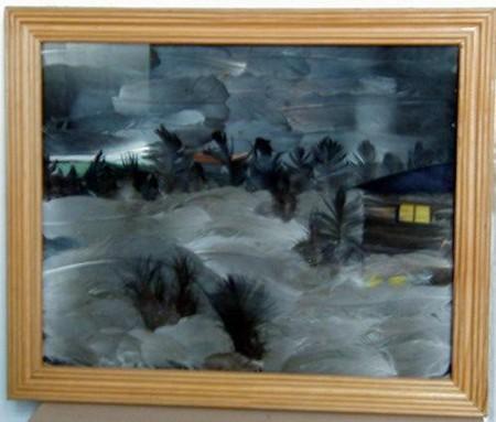 Картины-аппликации из перьев Марины Нестеровой — фото 9