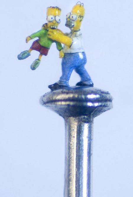 Миниатюрный арт знаменитого мастера микроскульптур Уилларда Уигана — фото 18