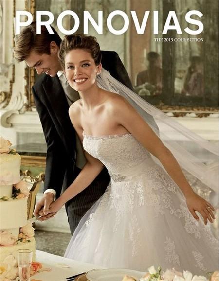 Весенне-летняя коллекция свадебных платьев от Pronovias  2013 — фото 14