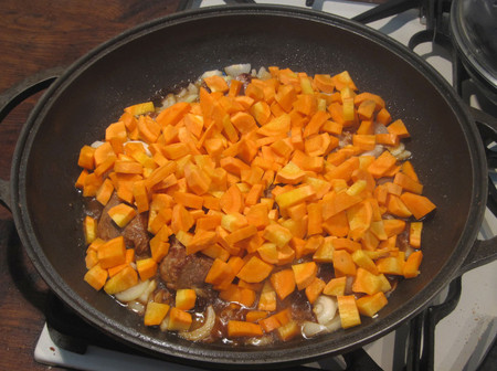 а вот и морковка подоспела