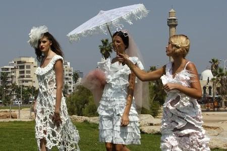 Свадебные платья из бумаги