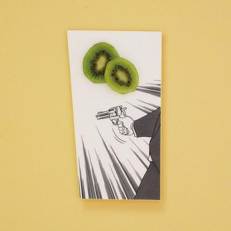 Арт-тарелки от Мики Цутай для любителей суши, посуды и комиксов — фото 8