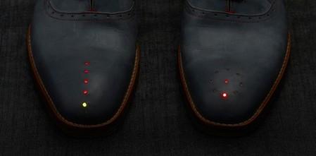светодиодные лампочки показывают расстояние и направление