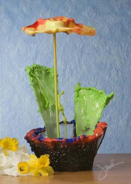 Цветы и сосуды: серия удивительных фотоснимков Джека Лонга — фото 8