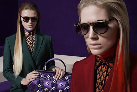 Новые веяния Prada в осеннее-зимней коллекции 2012-2013. Одежда — фото 24