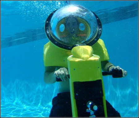 Подводный скутер HydroBOB - новые возможности дайвинга — фото 4