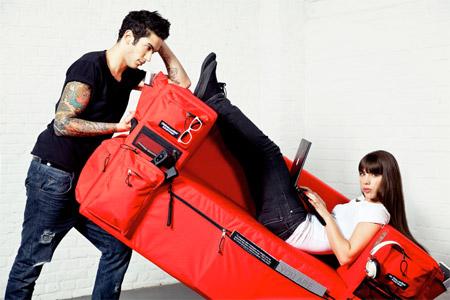 Диван-рюкзак