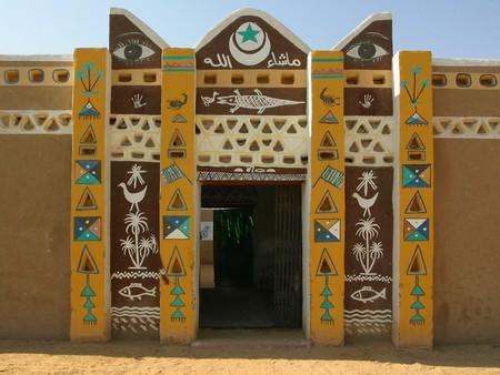 Асуан. Нубийская архитектура