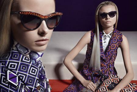 Новые веяния Prada в осеннее-зимней коллекции 2012-2013. Одежда — фото 25