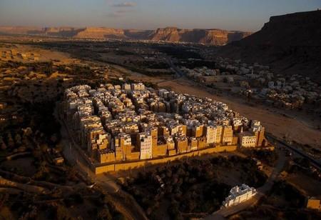Шибам - город глиняных небоскребов — фото 1