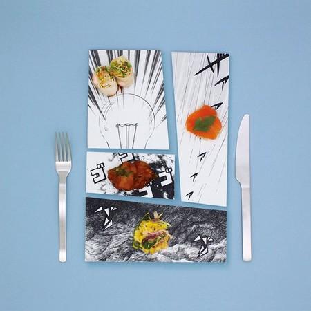 """Коллекция тарелок """"Manga Plates"""""""