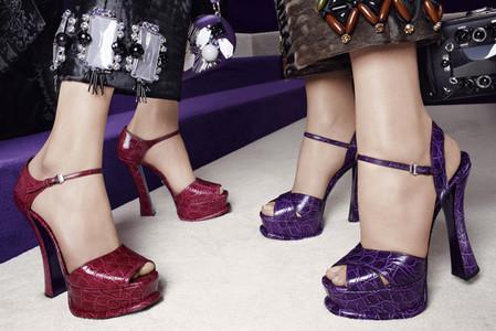 Новые веяния Prada в осеннее-зимней коллекции 2012-2013. Одежда — фото 21