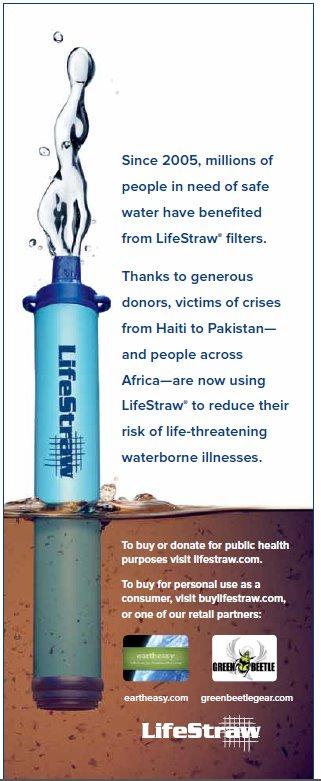 LifeStraw - трубка-фильтр для очищения воды — фото 12
