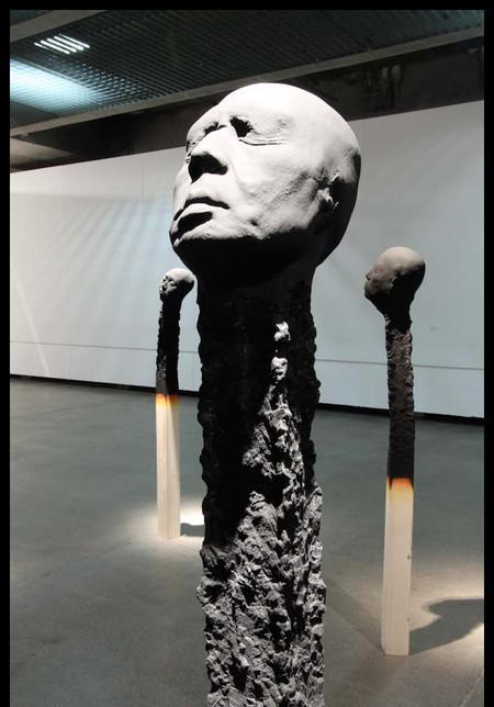 Люди как спички: серия работ Висбадена Вольфганга — фото 15