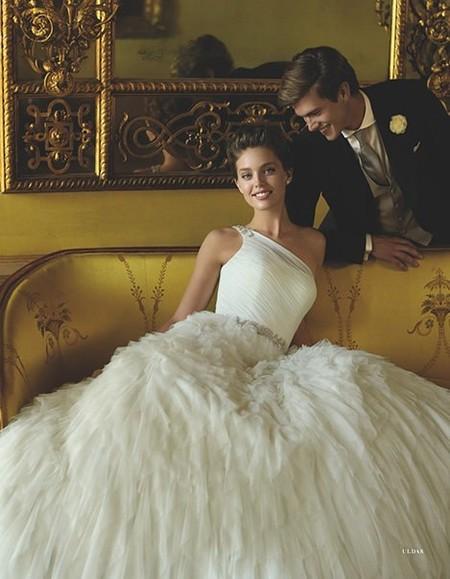 Весенне-летняя коллекция свадебных платьев от Pronovias  2013 — фото 21