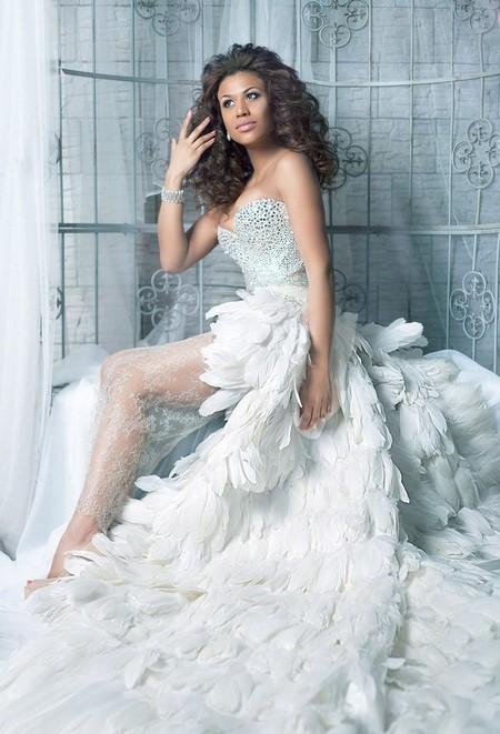 Обзор самых оригинальных идей для свадебного платья — фото 14