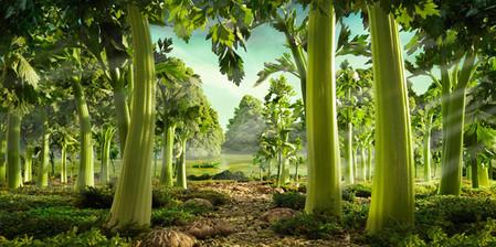 Уникальные пейзажи из еды Карла Уорнера — фото 12