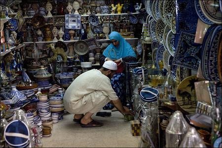 На рынке в Тунисе