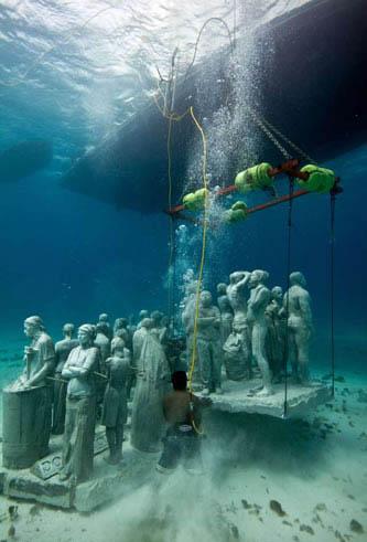 Подводные скульптуры от Джейсона Тейлора — фото 19