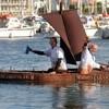 Лодка из шоколада от Джорджа Ларнико