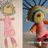 Мягкие игрушки от Венди Цао, сделанные по рисункам детей