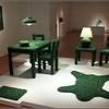 """""""Изумрудная"""" мебель из осколков стекла от Марка Рейгельмана"""