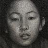 И снова необычные работы Куми Ямашита: удивительные портреты из нитей и гвоздей