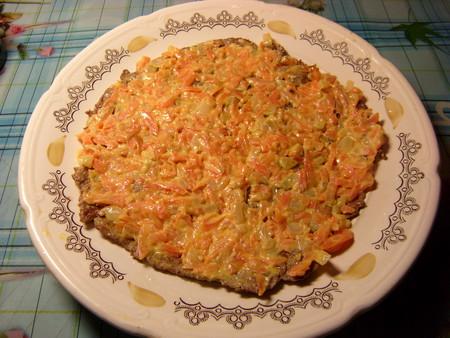 Торт из печени — фото 7