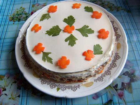 Торт из печени — фото 1