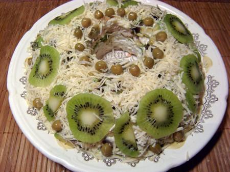 """Ко Дню всех влюбленных: салат """"Нефритовое кольцо"""" — фото 1"""