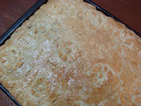 Капустник - пирог с капустой из бездрожжевого теста — фото 11