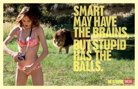 У умных есть мозги, у глупых есть смелость.