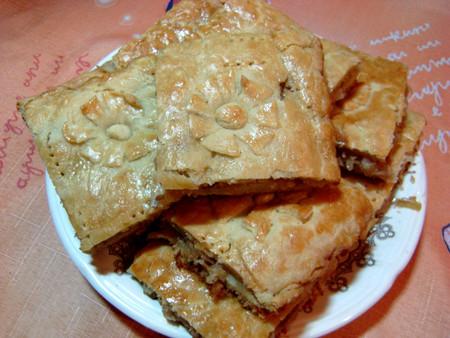 Капустник - пирог с капустой из бездрожжевого теста — фото 12