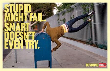 Глупые могут потерпеть неудачу. Умные даже не делают попыток.