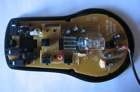 Разборка мыши A4Tech X7 — фото 9