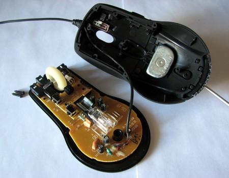 Разборка мыши A4Tech X7 — фото 3