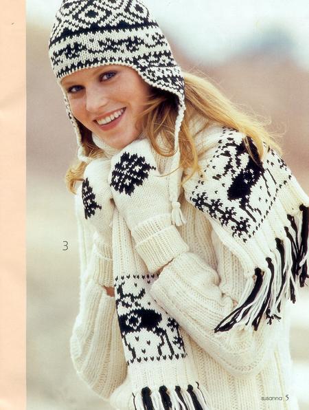 Модный акцент- норвежский узор — фото 1