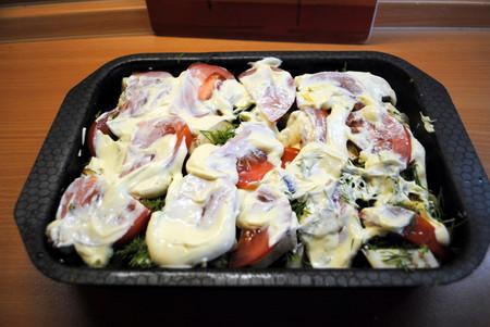 Овощное ассорти, запеченное с сыром — фото 10