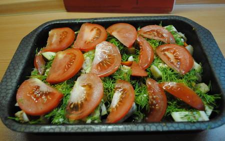 Овощное ассорти, запеченное с сыром — фото 9