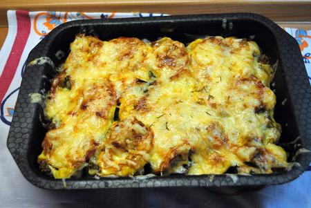 Овощное ассорти, запеченное с сыром — фото 1