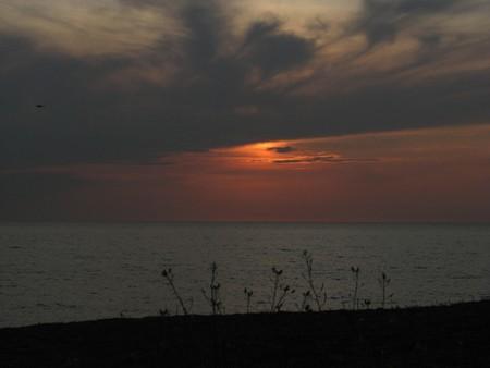 Закат на Тарханкуте