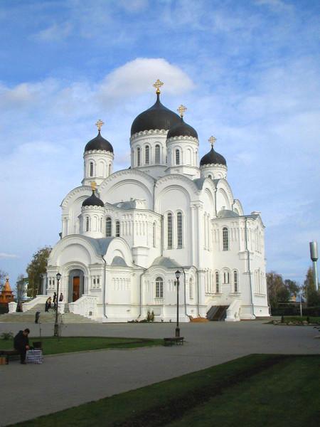 Спасо-Преображенский собор Серафимо-Дивеевского монастыря.