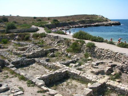 Развалины древнего Херсонеса