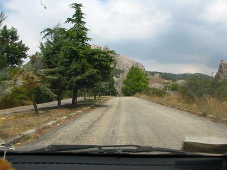 Дорога в сторону Солнечной долины