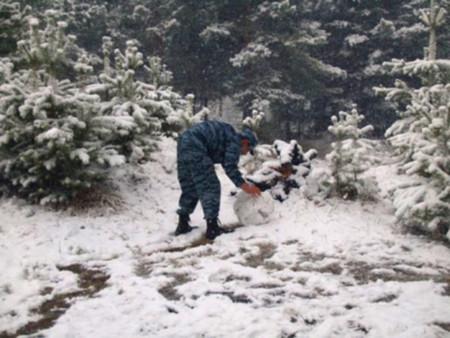 Первомайский снеговик — фото 6