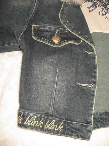 Укороченная джинсовая куртка от Wojcik — фото 5