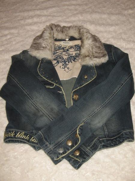 Укороченная джинсовая куртка от Wojcik — фото 2