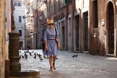 Одинокая женщина в поисках счастья...